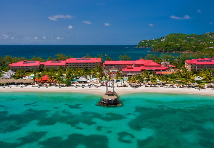 Sandals Grande St. Lucian Spa & Beach Resort, Сент-Люсия